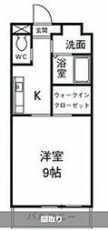 神奈川県藤沢市湘南台5丁目の賃貸マンションの間取り