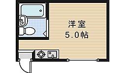 北畠ハイツUTS[301号室]の間取り