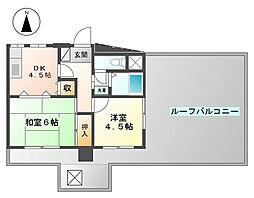 ライオンズマンション明石東二見第2[605号室]の間取り
