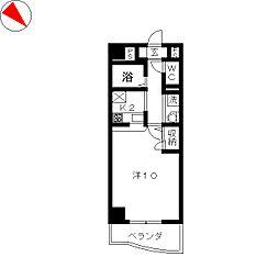 シーフィールド東静岡[3階]の間取り