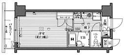 ガラ・ステージ西新宿[5階]の間取り