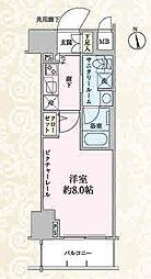 ステージグランデ上野松が谷[4階]の間取り