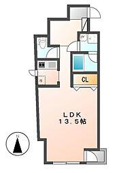 S−FORT葵一丁目[2階]の間取り