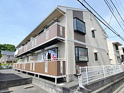 千葉県船橋市前貝塚町の賃貸アパートの外観