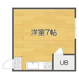 清水丘マンション[2階]の間取り