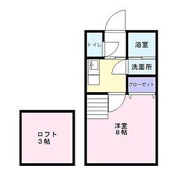 善導寺駅 3.4万円