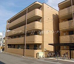 岡山県岡山市北区南方4丁目の賃貸マンションの外観