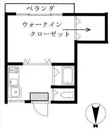 第一宮本ビル[2階]の間取り