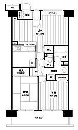 (仮称)小田急相模原マンション[8階]の間取り