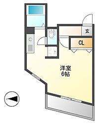 アベニール姫ケ池[4階]の間取り