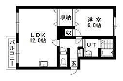太洋マンションII[305号室]の間取り