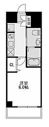 エステムコート新大阪VIIIレヴォリス[9階]の間取り