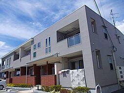 大阪府大阪狭山市茱萸木4丁目の賃貸アパートの外観