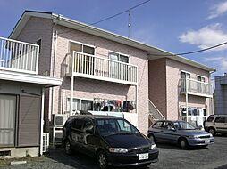 茨城県那珂市竹ノ内2丁目の賃貸アパートの外観