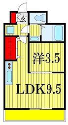 金太郎ヒルズ175[3階]の間取り