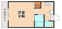 フレグランスII[2階]の間取り