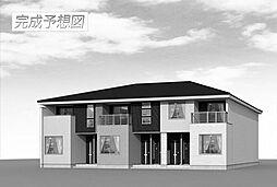 山口県下関市長府中土居本町の賃貸アパートの外観