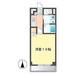 DI−3[4階]の間取り