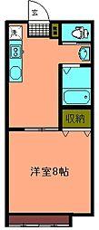 アーバンテイー本荘202棟[206号室]の間取り