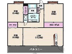 雑餉隈駅 11.8万円