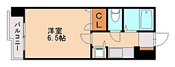 ダイナコートエスタディオ桜坂[3階]の間取り