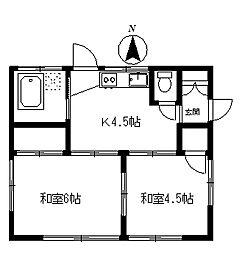 [一戸建] 埼玉県所沢市東新井町 の賃貸【/】の間取り