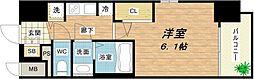 大阪府大阪市東成区東小橋1丁目の賃貸マンションの間取り