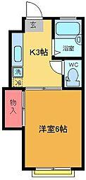 メゾン野澤[1階]の間取り