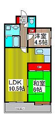 奥田屋ビル[5階]の間取り