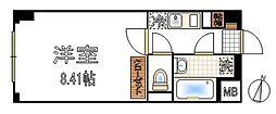 アスティエ渋谷松涛[203号室]の間取り