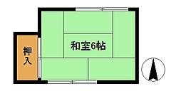 第一柴田荘[2号室]の間取り