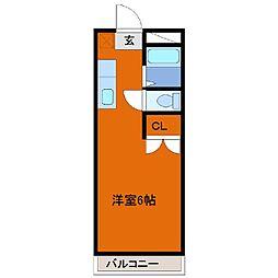 ヒロ大巌寺[305号室]の間取り