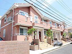 神奈川県藤沢市亀井野2丁目の賃貸アパートの外観