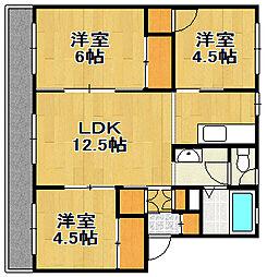 PRISM Eniwa 002[3階]の間取り