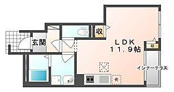 ドルチェ[1階]の間取り
