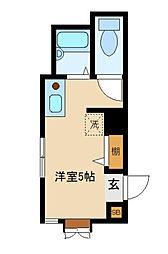 シャルム北新宿[1階]の間取り