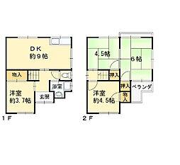 上之島町北4丁目戸建て[1号室]の間取り