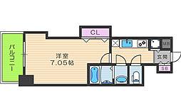 Luxe天神橋[13階]の間取り