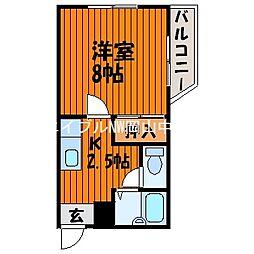 サンシャイン・ミヤケ[2階]の間取り