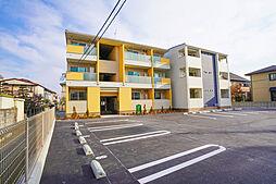 岡山県岡山市中区高屋の賃貸アパートの外観