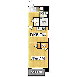 COSMO 3[2階]の間取り
