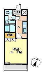Pear−Court3[102号室号室]の間取り