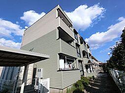 千葉県千葉市花見川区花園3丁目の賃貸マンションの外観