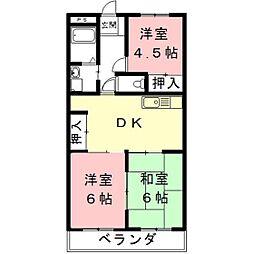 HOUSE610[5階]の間取り