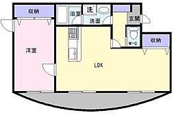 リンガーベル[1階]の間取り