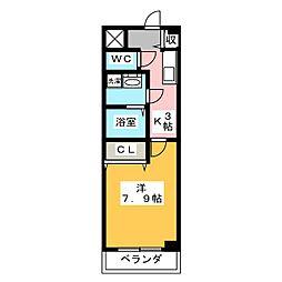 サニーコートMT[2階]の間取り