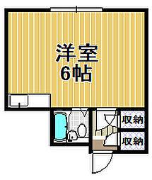 ABA西九条[5階]の間取り
