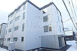北海道札幌市西区八軒二条東3丁目の賃貸マンションの外観