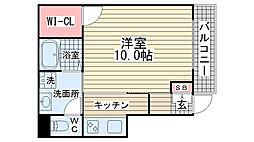 メゾン・オランジュ[102号室]の間取り