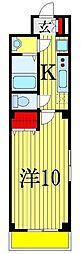 TSKコート[3階]の間取り